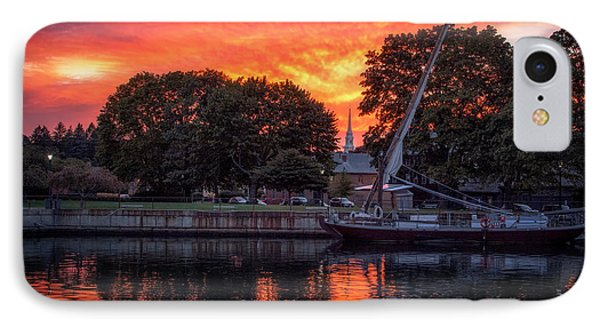 Piscataqua And The Church IPhone Case