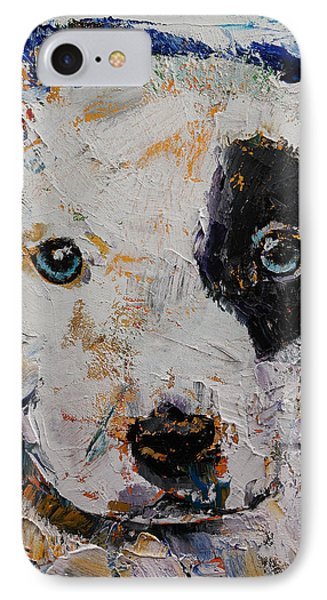 Pit Bull Puppy IPhone Case