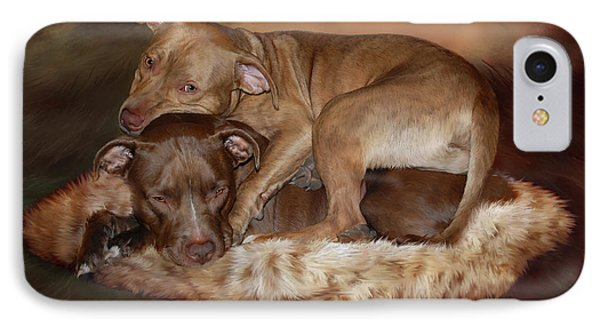 Pitbulls - The Softer Side IPhone Case