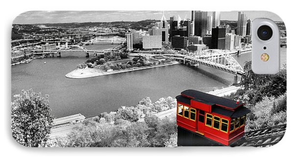 Pittsburgh From The Incline IPhone Case