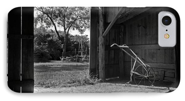 Plow Is In The Barn IPhone Case