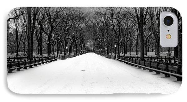 Poet's Walk In Snow IPhone Case