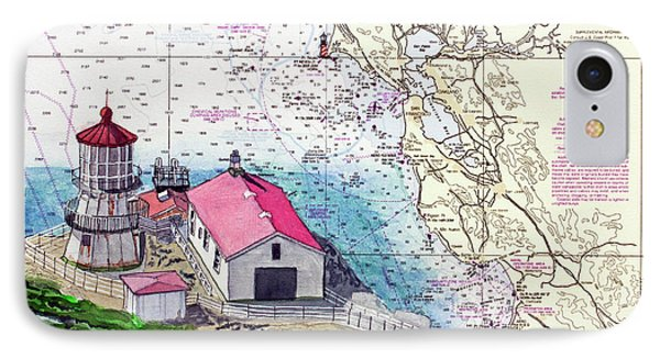 Point Reyes Light Station IPhone Case