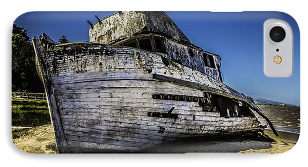 Point Reyes Ship Wreck IPhone Case