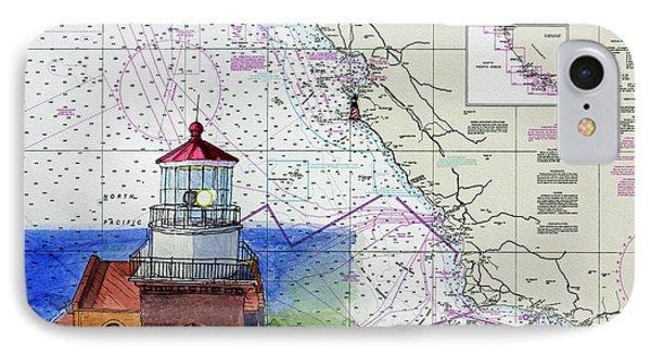 Point Sur Light Station IPhone Case