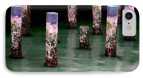 Poles In The Water IPhone Case