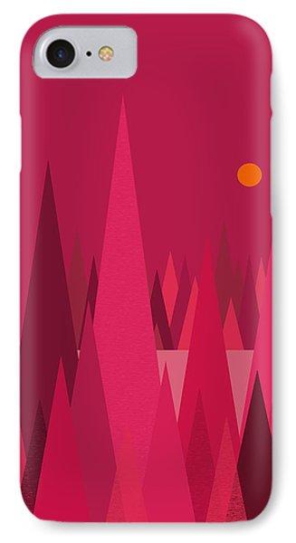 Pomegranate Wood IPhone Case