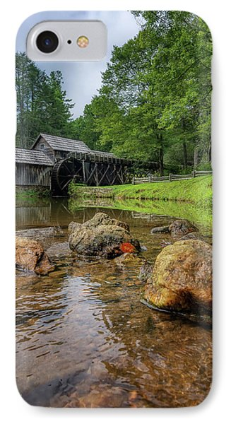 Pond At Mabry Mill IPhone Case