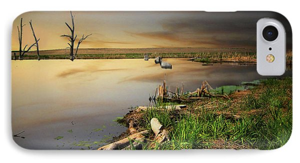 Pond Shore IPhone Case