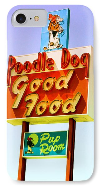 Poodle Dog Diner IPhone Case