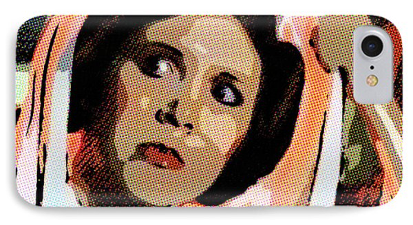 Pop Art Princess Leia Organa IPhone Case