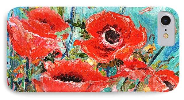 Poppies Delight IPhone Case
