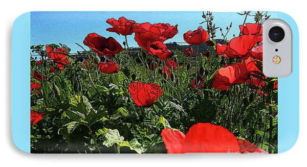 Poppies. IPhone Case