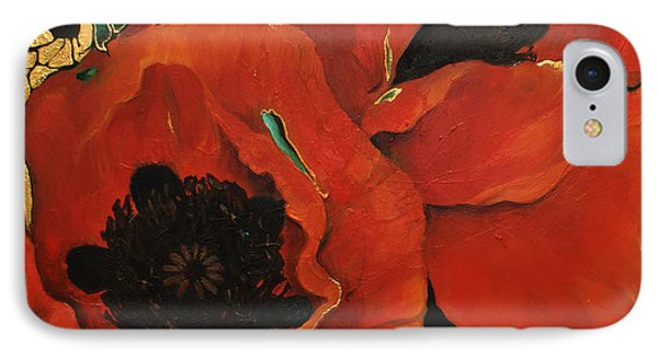 Poppygold IPhone Case