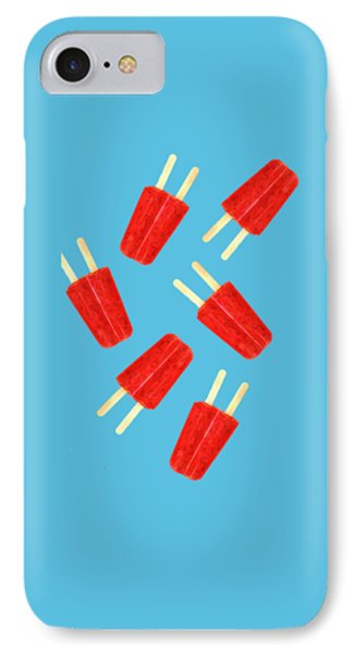 Desert iPhone 8 Case - Popsicle T-shirt by Edward Fielding