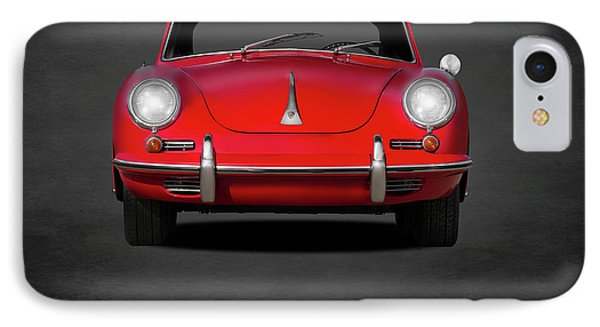 Transportation iPhone 8 Case - Porsche 356 by Mark Rogan