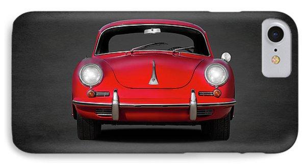 iPhone 8 Case - Porsche 356 by Mark Rogan