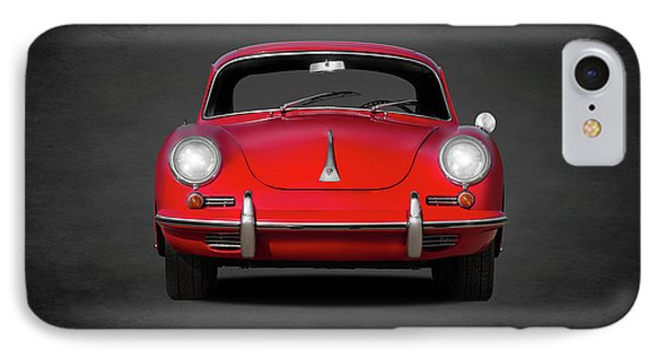Transportation iPhone 8 Case - Porsche 356 by Mark Rogan
