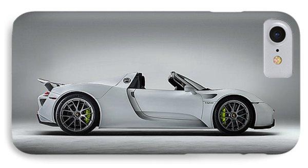 Car iPhone 8 Case - Porsche 918 Spyder by Douglas Pittman