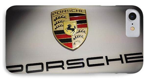 Porsche Badge Iphone 8 Cases Fine Art America