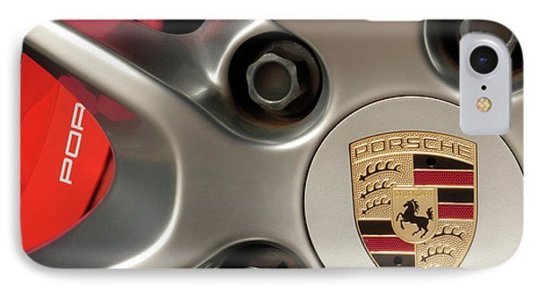 Porsche Wheel Detail #1 IPhone Case