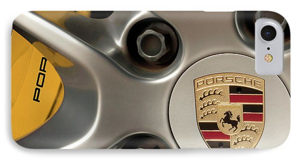 Porsche Wheel Detail #2 IPhone Case
