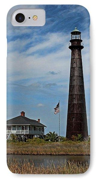 Port Bolivar Lighthouse IPhone Case