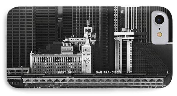 Port Of San Francisco IPhone Case