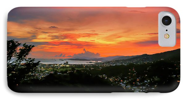 Port Of Spain Sunset IPhone Case