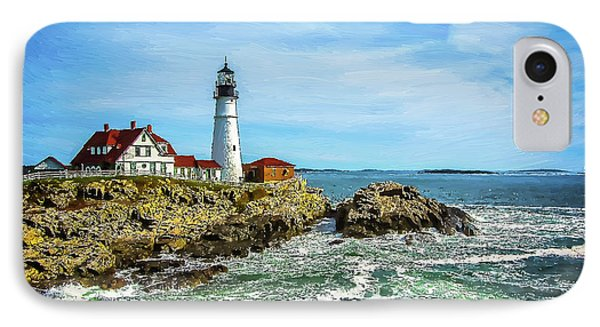 Portland Head Light - Oldest Lighthouse In Maine IPhone Case