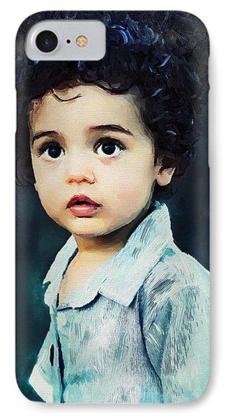 Portrait Of A Child IPhone Case