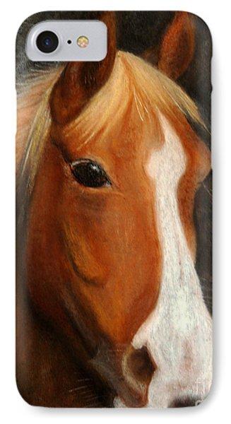 Portrait Of A Horse IPhone Case