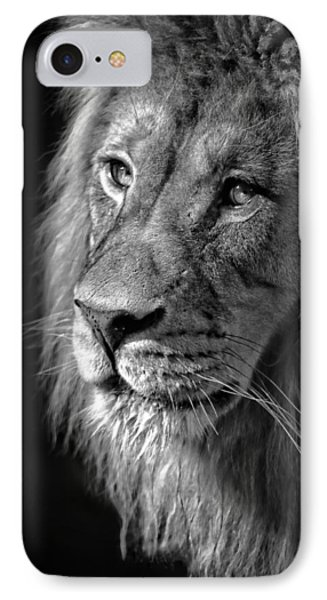 Portrait Of A King IPhone Case