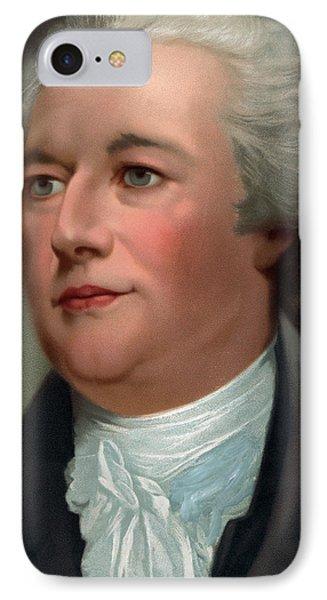 Portrait Of Alexander Hamilton IPhone Case