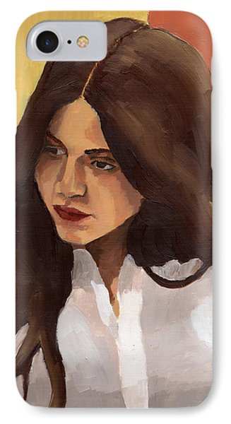 Portrait Of Amelia IPhone Case