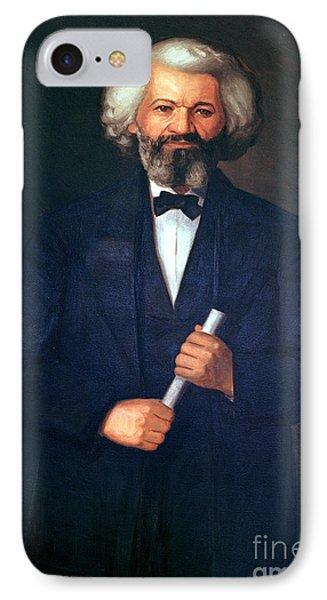 Portrait Of Frederick Douglass IPhone Case