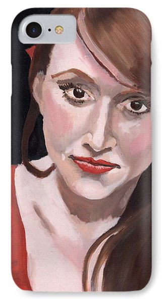 Portrait Of Howley IPhone Case