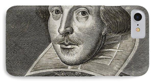 Portrait Of William Shakespeare IPhone Case