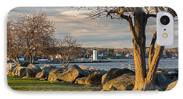 Portsmouth Harbor Light At New Castle Commons IPhone Case