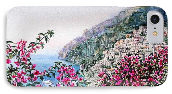 Positano Italy IPhone Case