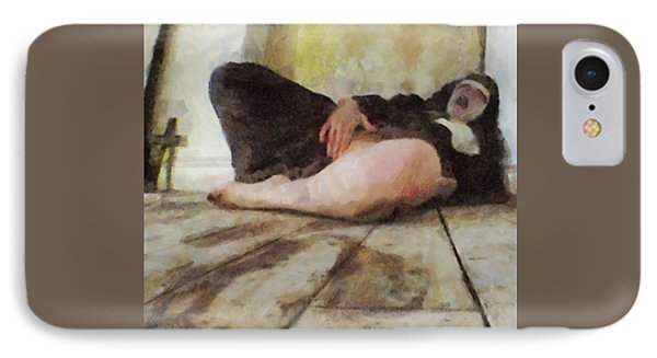 Possessed Nun IPhone Case