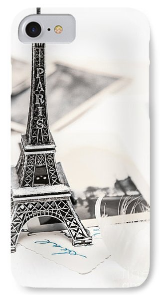 French iPhone 8 Case - Postcards And Letters From Paris by Jorgo Photography - Wall Art Gallery