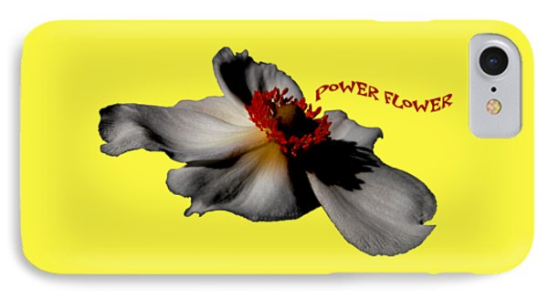 iPhone 8 Case - Power Flower Anemone by Orphelia Aristal