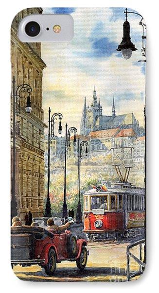 Prague Kaprova Street IPhone Case
