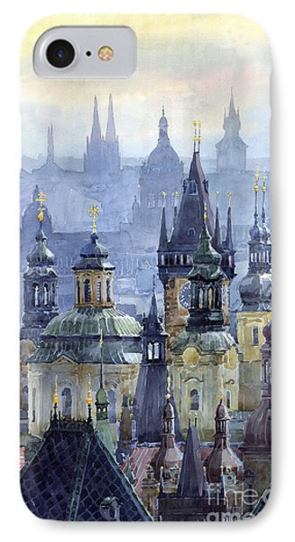 Prague Towers IPhone Case