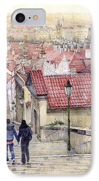 Prague Zamecky Schody Castle Steps IPhone Case