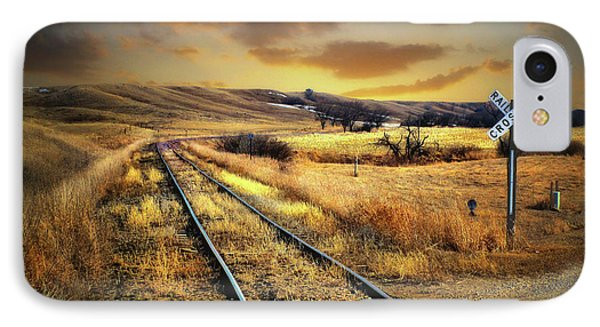 Prairie Tracks IPhone Case