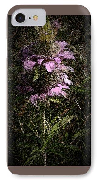 Prairie Weed Flower IPhone Case