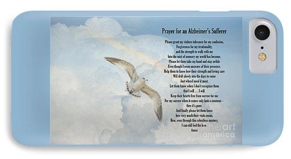 Prayer For An Alzheimer's Sufferer IPhone Case