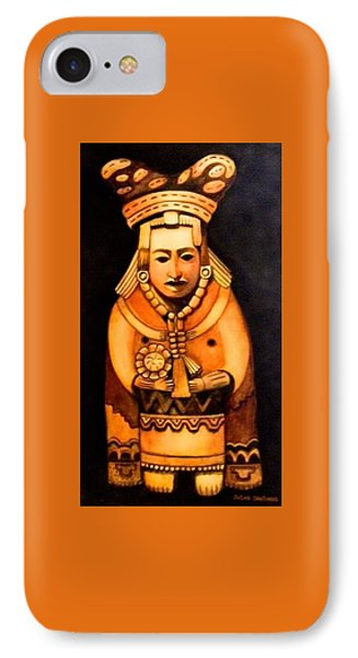 Pre Columbian God IPhone Case